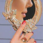 انگشتر آناهیتا- طلا و جواهری حقانی