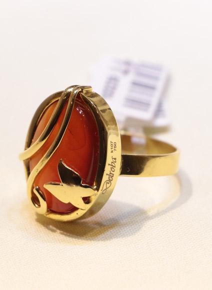انگشتر طلای زنانه آناهیتا