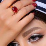 انگشتر یاقوت قرمز کیان2- طلا و جواهری حقانی