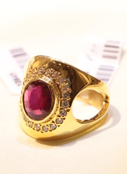 انگشتر طلای زنانه امپریال