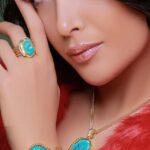 دستبند آدرینا- طلا و جواهری حقانی