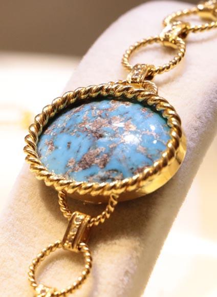 دستبند آدرینا2- طلا و جواهری حقانی