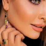 گوشواره 21 مولتی- طلا و جواهری حقانی