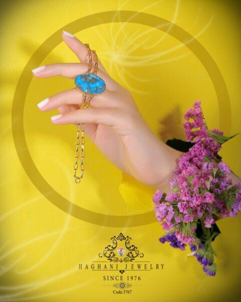 دستبند طلای زنانه رویال ۲۱ عیار