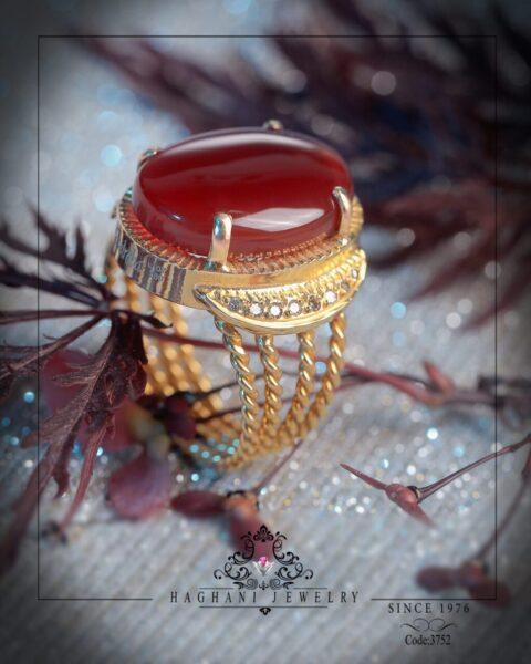 انگشتر طلای زنانه آدرینا