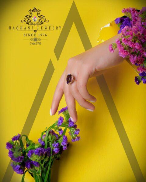 انگشتر طلای زنانه هانا