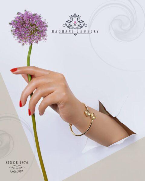 دستبند طلای زنانه کارتیر